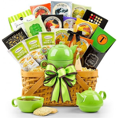29 Great 60th Birthday Gift Ideas For Her Tea Gift Baskets