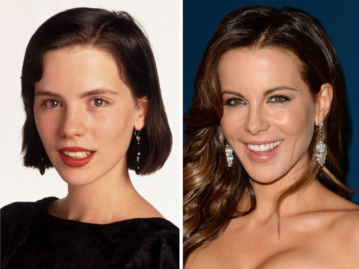 kate beckinsale, before and after | kate beckinsale | pinterest