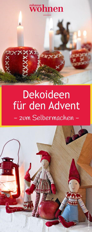 Deko Und Bastelideen Für Den Advent Basteln Weihnachten