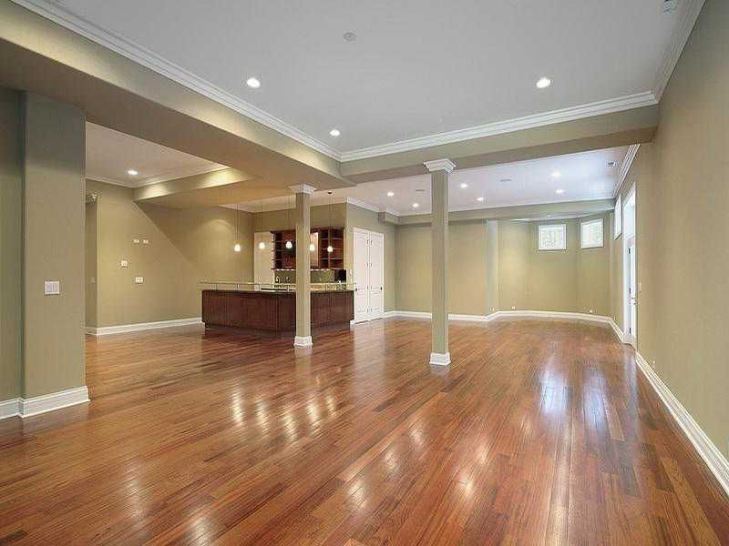 Finished Basements Ideas Partially Finished Basement Ideas