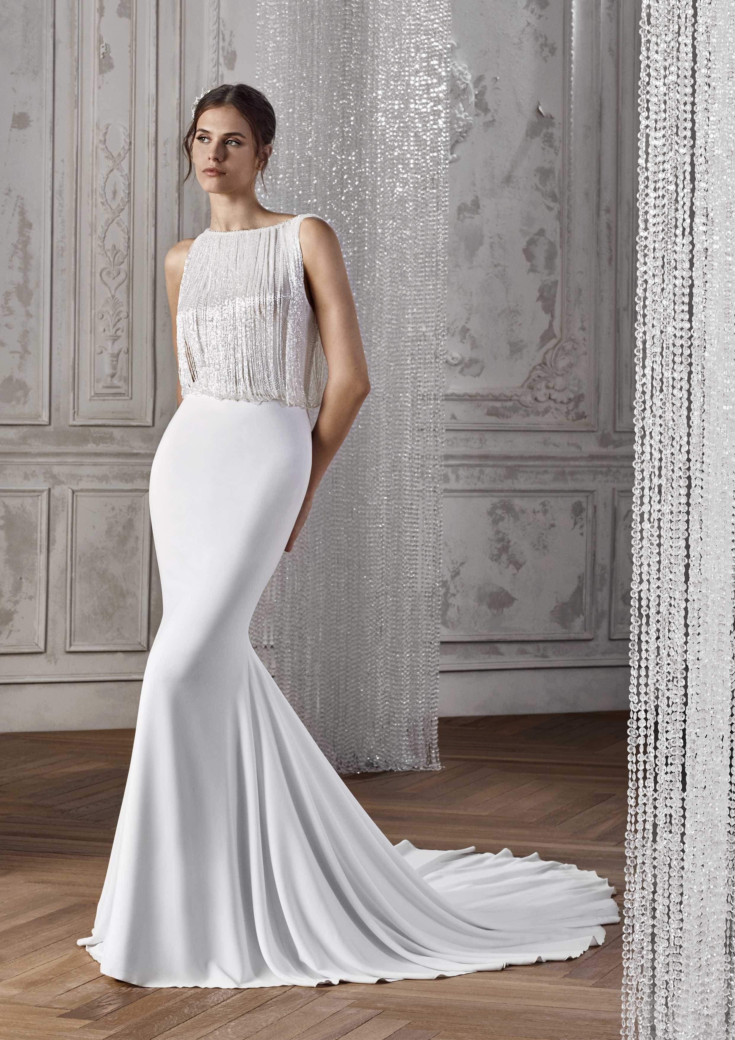 8ba34f18d055 KAREL ST PATRICK STUDIO 2019 OFF WHITE WEDDING DRESS LUV BRIDAL AUSTRALIA