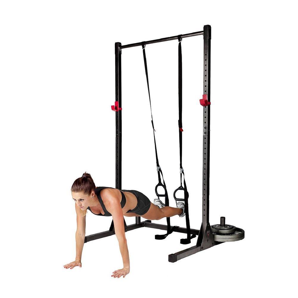 Trx suspension training straps home gym exercise equipment