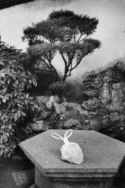 Chine, 2002. Dans le jardin du mandarin Yu à Shanghai, au coeur de ...