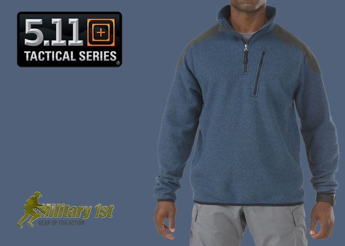 5.11 Tactical 1/4 Zip Sweater at Military1st