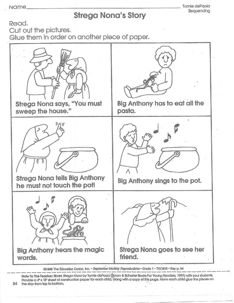Story Sequencing Worksheets Pdf [ 1035 x 800 Pixel ]