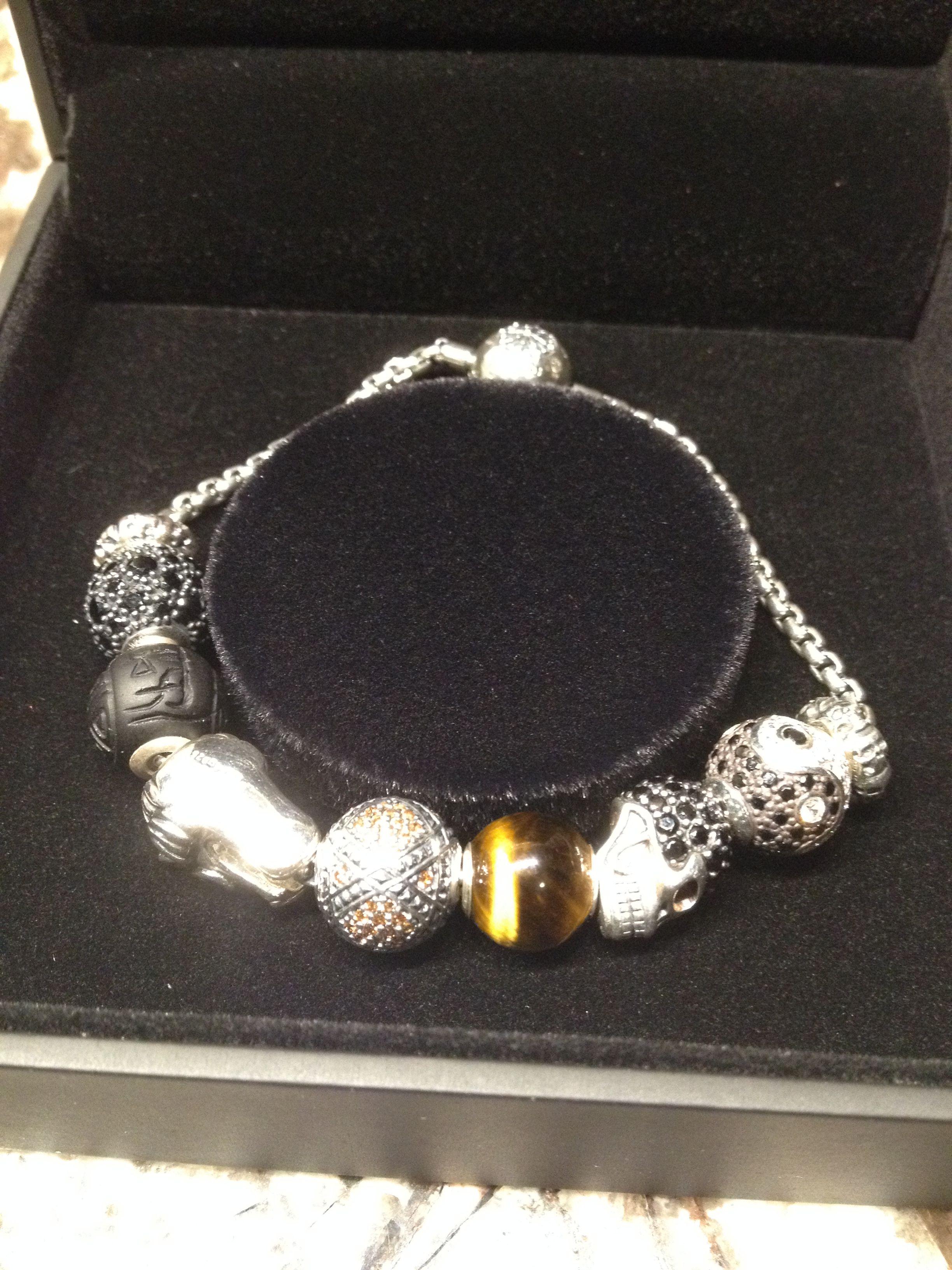 Thomas Sabo  Mens  Karma Beads Bracelet