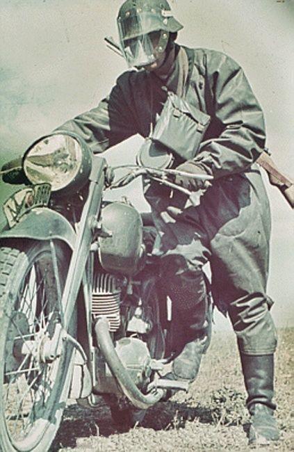 Гермaнские цветные фотографий времен третьего рейха (498 фото)