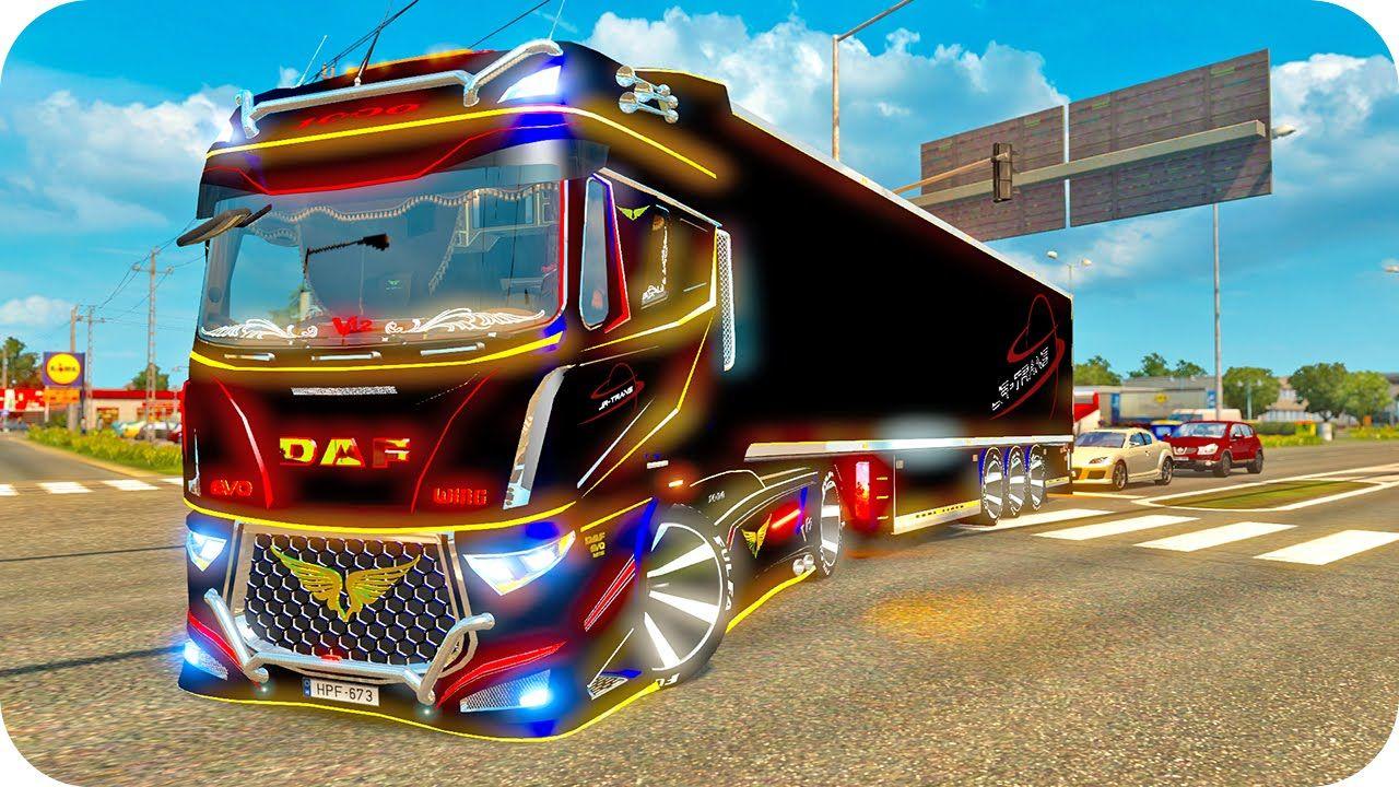 Daf Evo Wing Ets2 Euro Truck Simulator 2 Trucks Simulation Evo