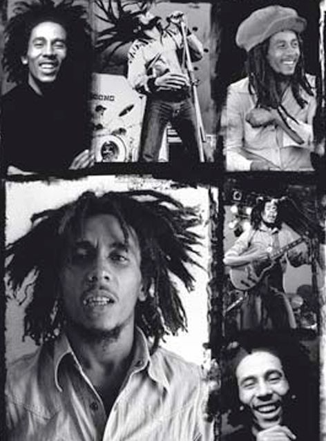 Bob Marley More Fantastic Collages Pictures And Videos Of On De ReggaeHeart