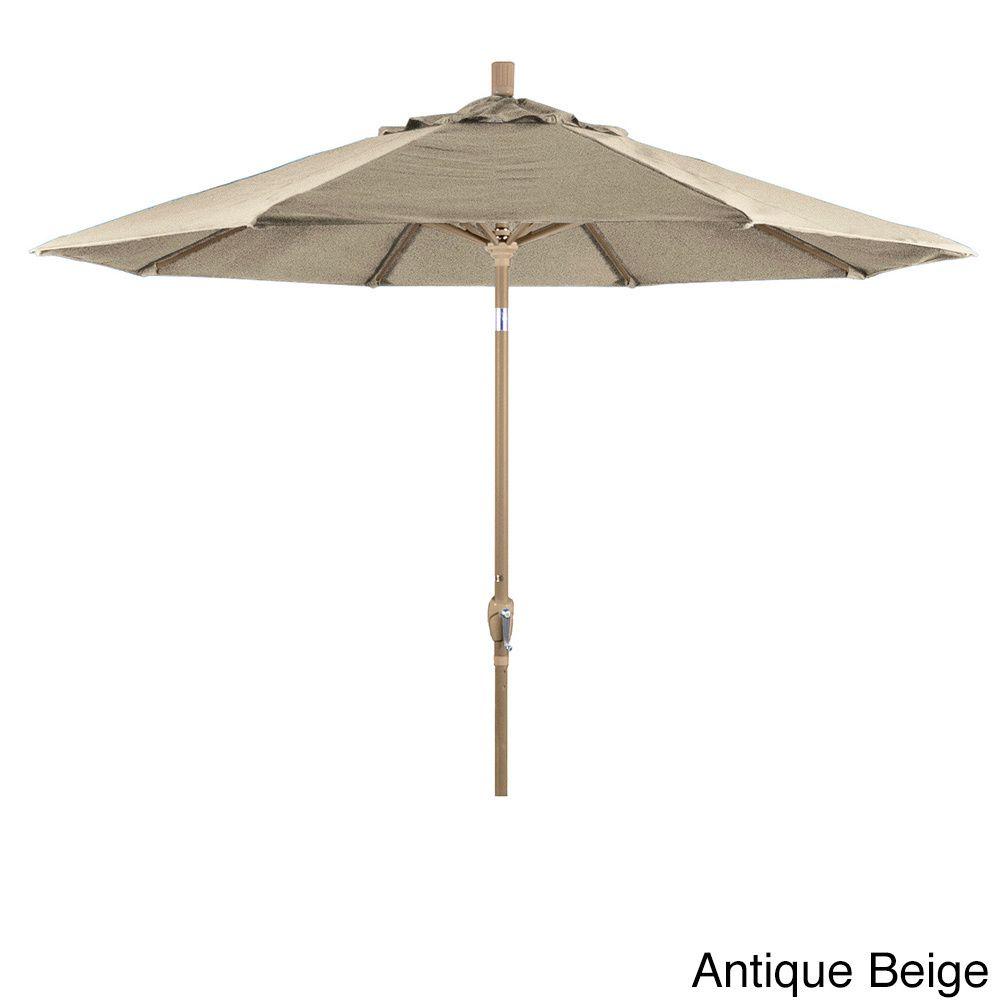 California Umbrella Champagne Outdoor Market Umbrella