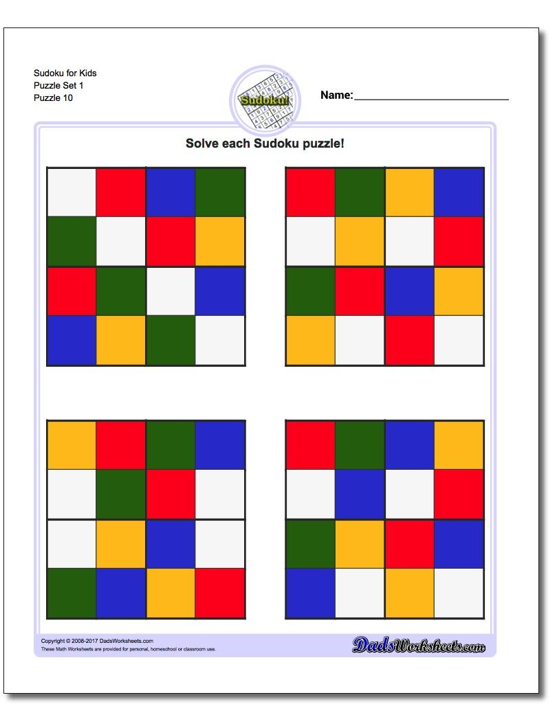image regarding Sudoku Printable for Kids known as People printable coloration sudoku puzzles for small children are the