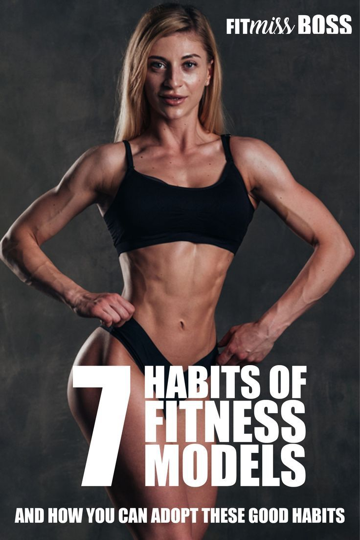 Ever wondered how fitness models get into top shape?  It's discipline through daily habits!  Learn t...