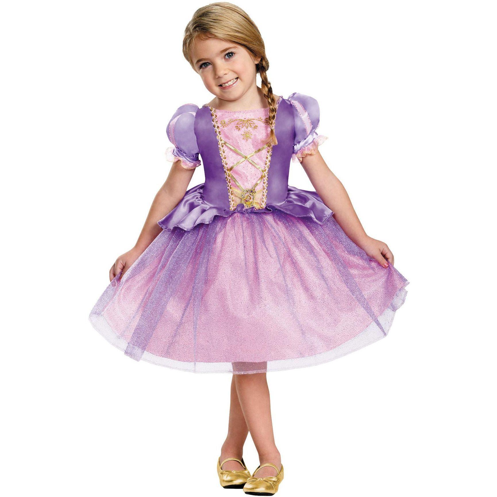 Rapunzel Toddler Classic 4-6   Vestiditos