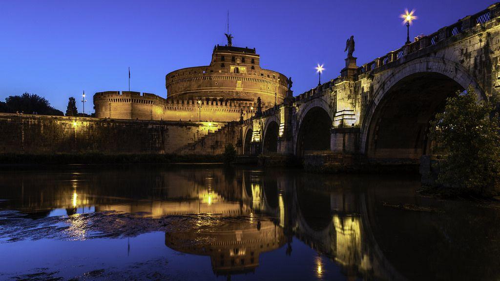 Ponte San't Angelo by Blende1.8