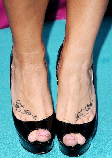Demi Lovato tattoo's