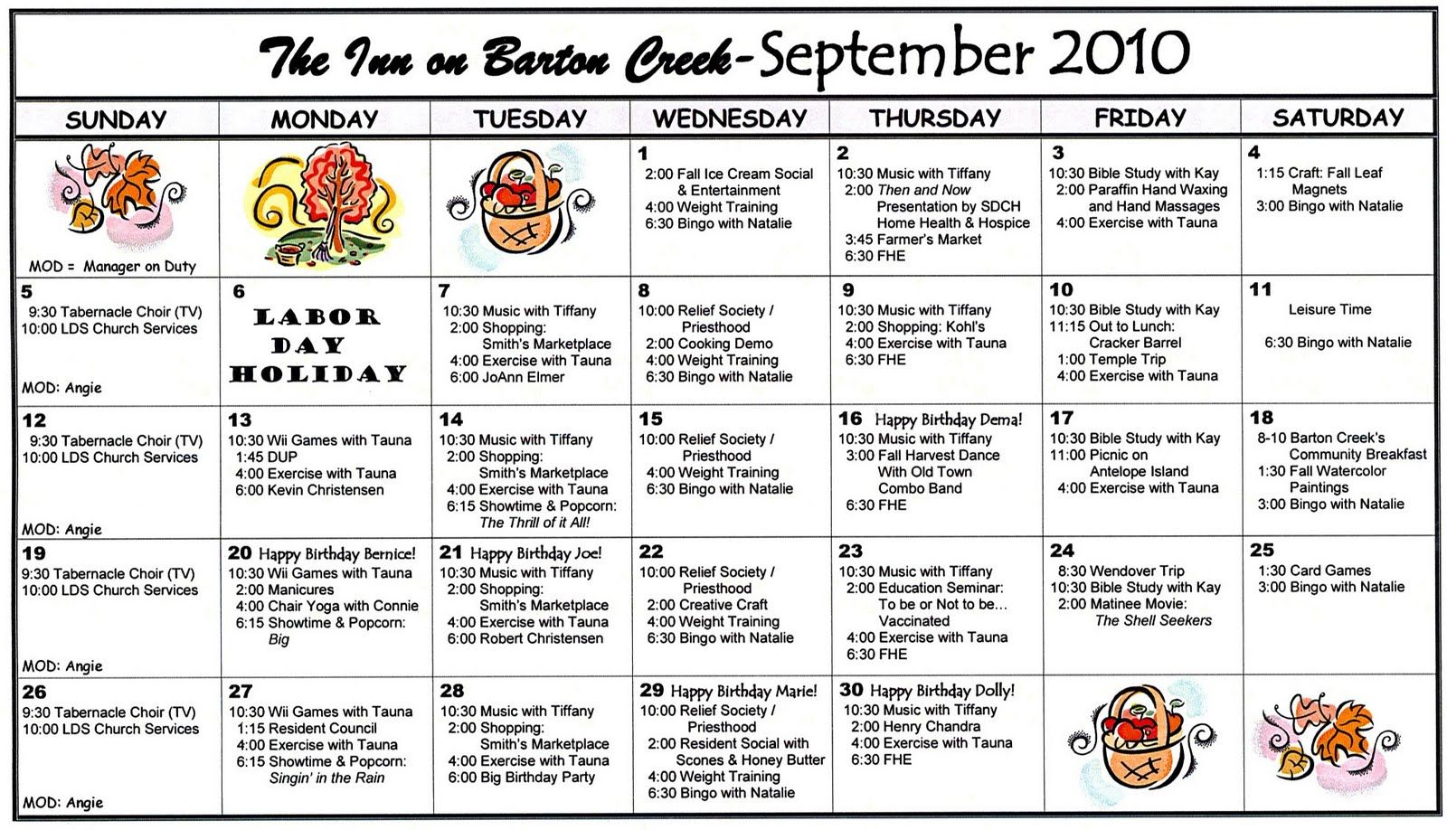 Pin By Jen Live Laugh Ride On Other Activity Calendars Assisted Living Menu Template Recipe Book Templates
