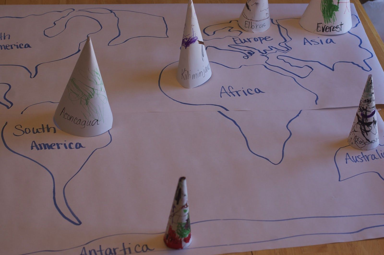 Highest Mountains On Each Continent Learning