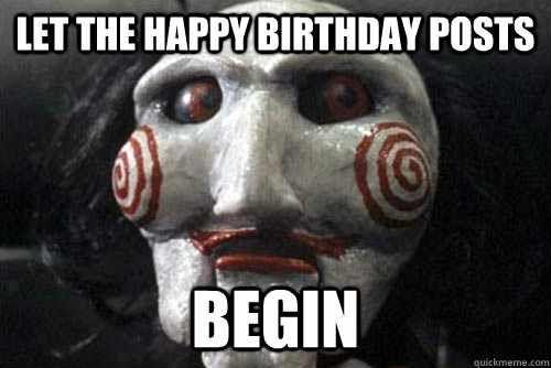 scary halloween birthday wishes