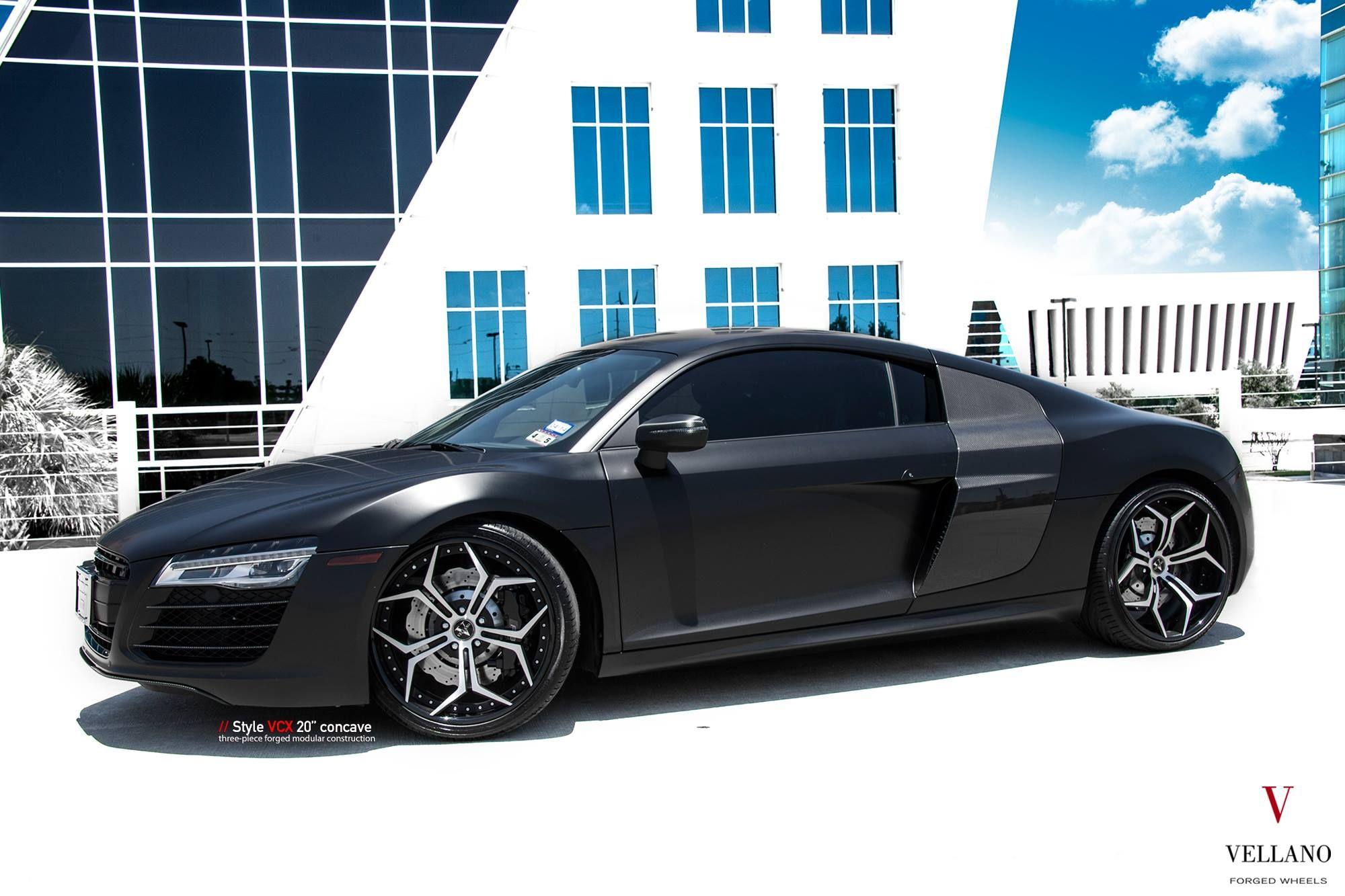 Audi r8 v10 plus on vellano forged wheels https www carid