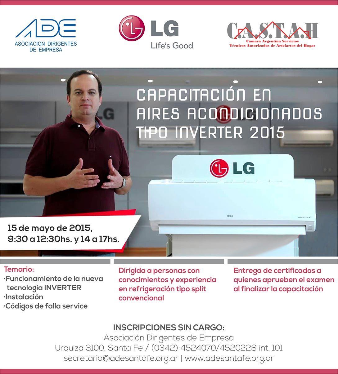 Capacitación en Aires Acondicionados Tipo Inverter (2015