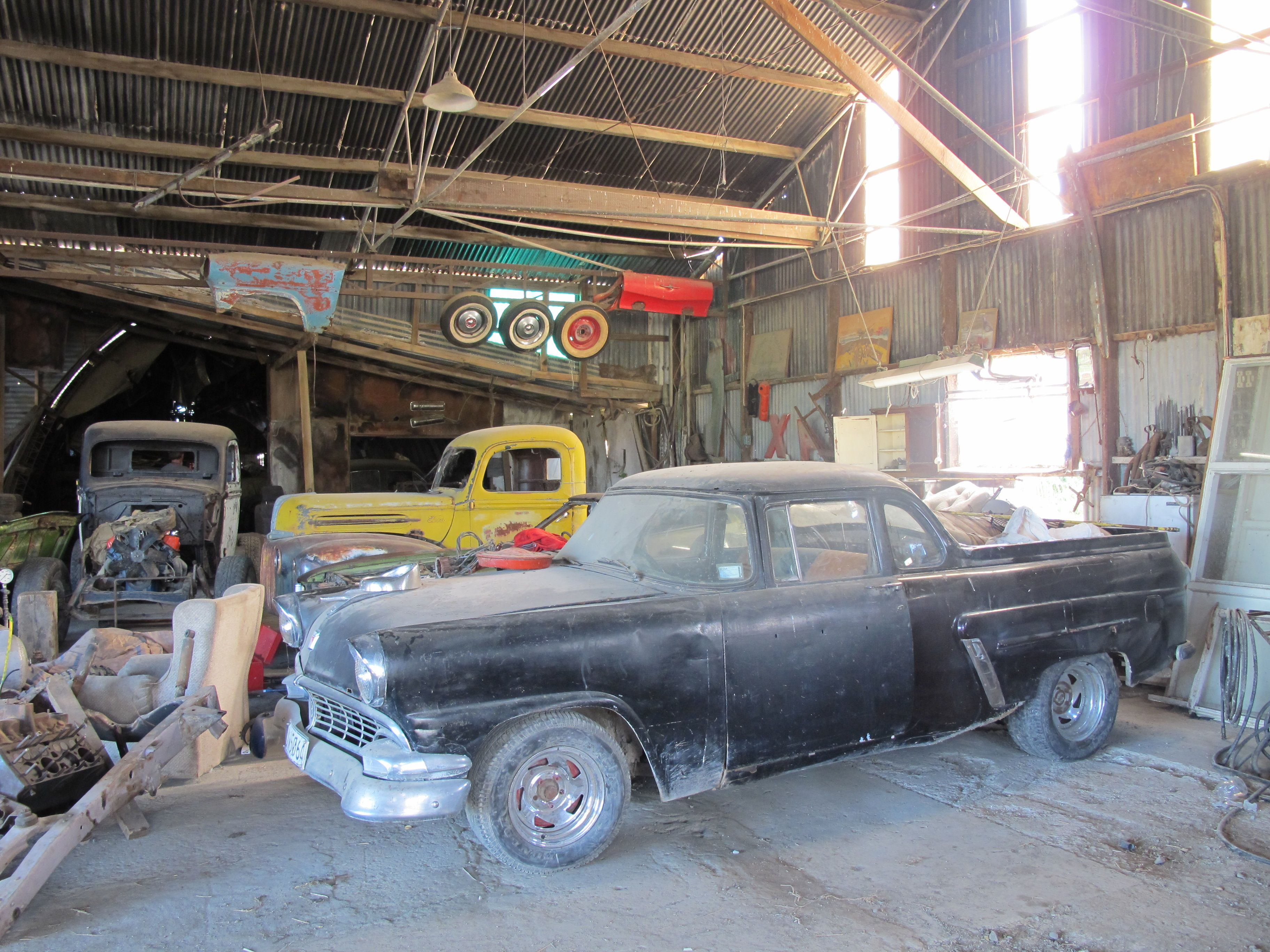 Barn Find Gisbourne New Zealand