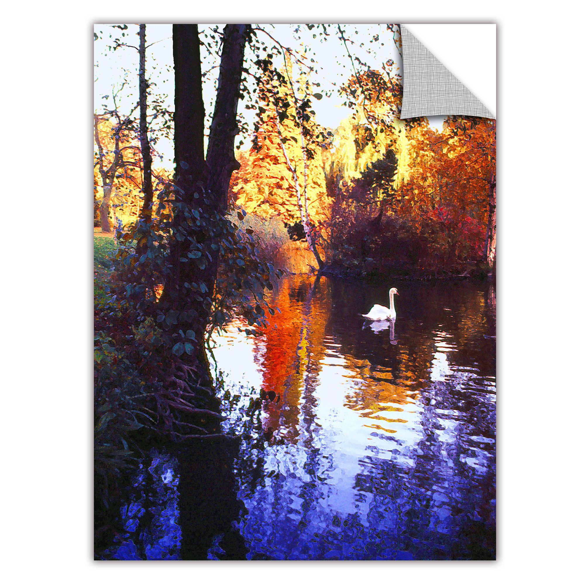 Removable wall art graphic - Artwall Dean Uhlinger Hamm Park Art Appeelz Removable Wall Art Graphic 14x18