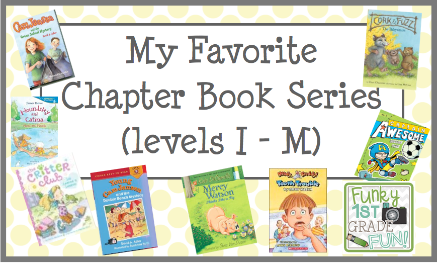 Book Talk Tuesday Chapter Book Series Freebies Teaching