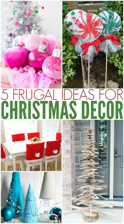 Christmas Decorating Diy And Budget Friendly Christmas
