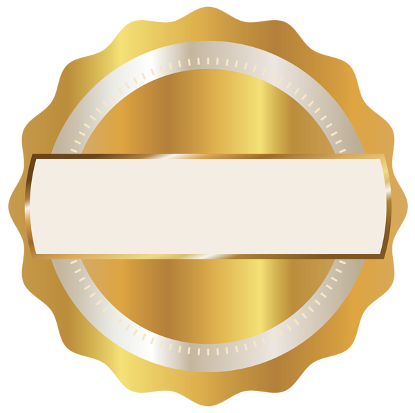 Gold Seal Badge PNG Clipart Image | Backgrounds idea for ...