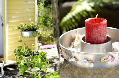 Kukka-amppeli kakkuvuoasta – Kotiliesi
