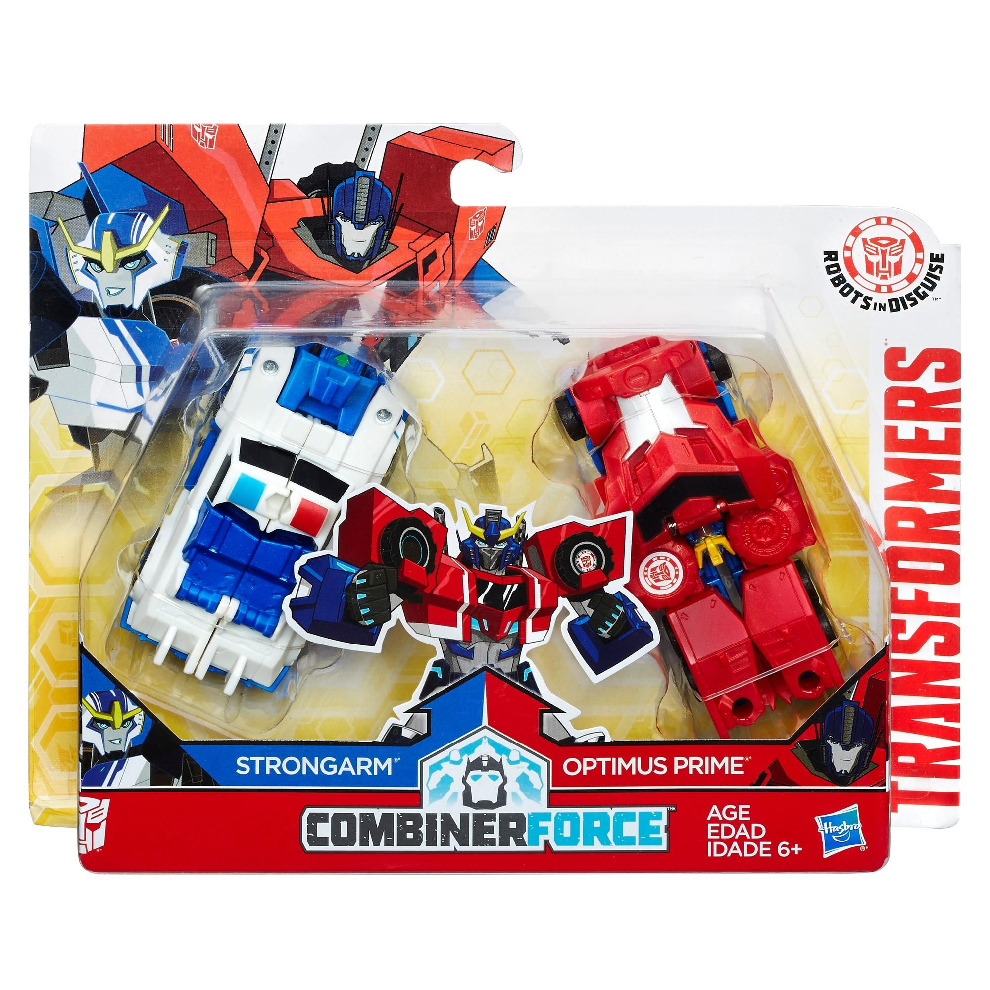 Transformers Robots In Disguise Combiner Force Crash Combiner Primestrong Toy
