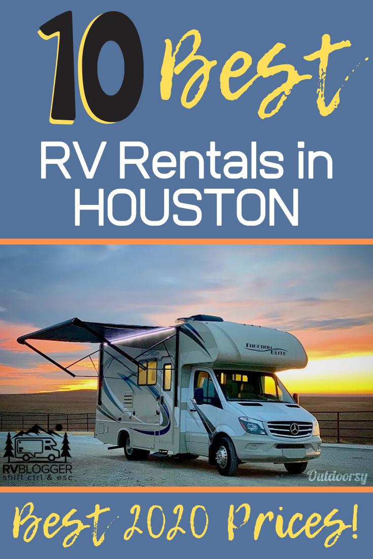 10 Best Rv Rentals In Houston Best 2020 Prices Rvblogger Rv Rental Houston Vacation Rent Rv