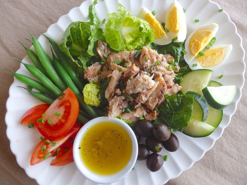 Sardine Nicoise Salad Recipe Nicoise Salad Nicoise Salad