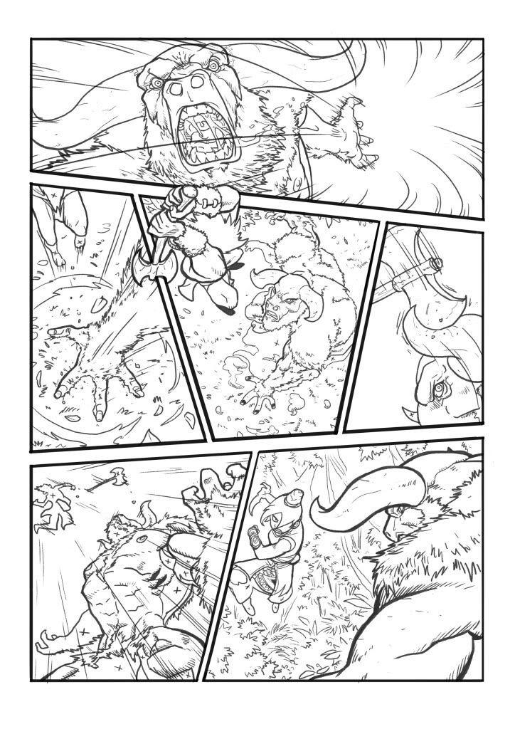 My Comic Layout  Before Color  Comic    Comic Layout