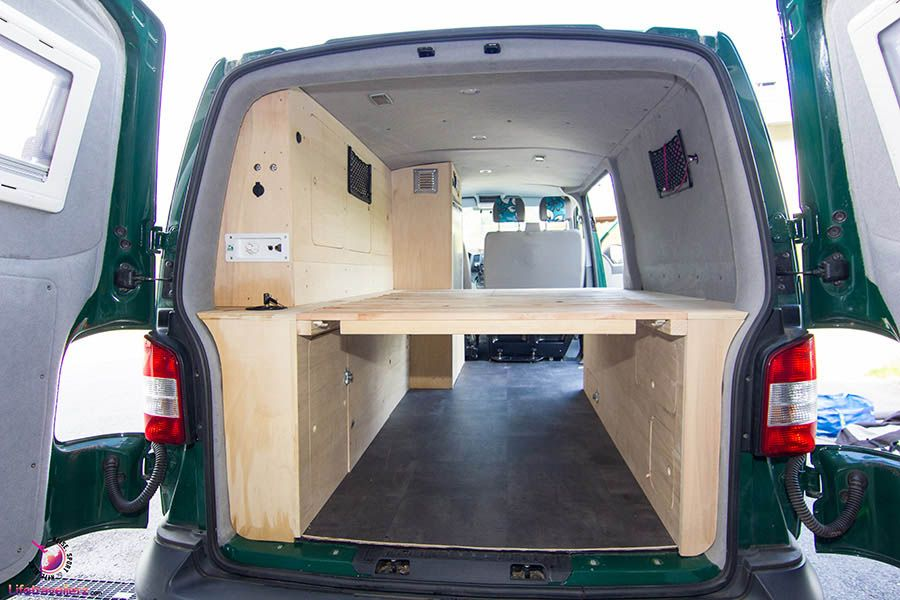 vw t5 ausbau m belausbau f r den vw bus amenagement. Black Bedroom Furniture Sets. Home Design Ideas