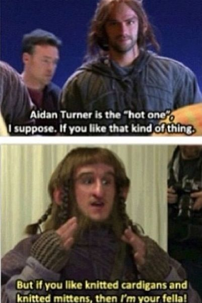 """Adam Brown """"Ori"""" talking about Aidan Turner """"Kili"""" - He is so cute! XD"""