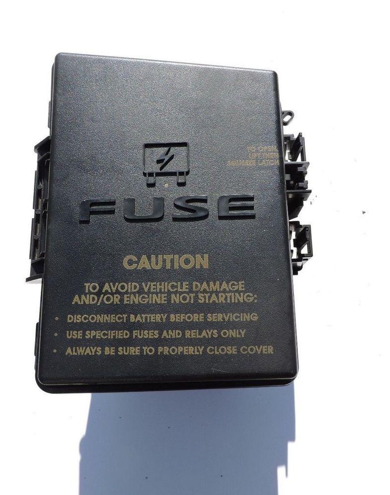 Plymouth Breeze Fuse Box