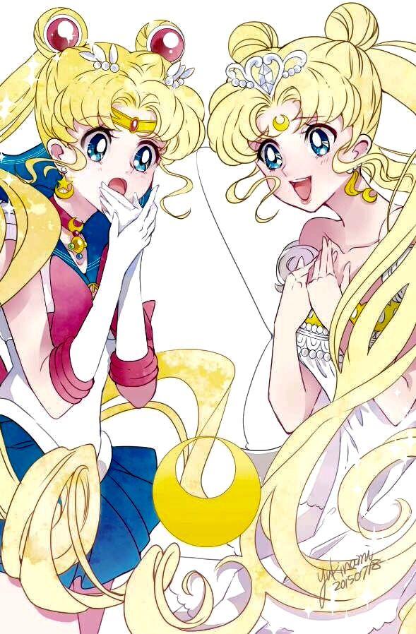 Sailor Moon & Neo Queen Serenity   Sailor Moon   Pinterest   Sailor ...