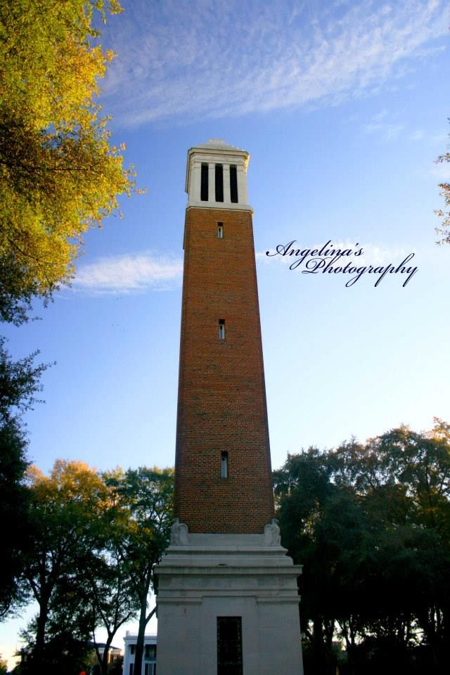 Denny Chimes, University of Alabama, Tuscaloosa, AL by Angelina's Photography https://www.facebook.com/angelinasphotographyal