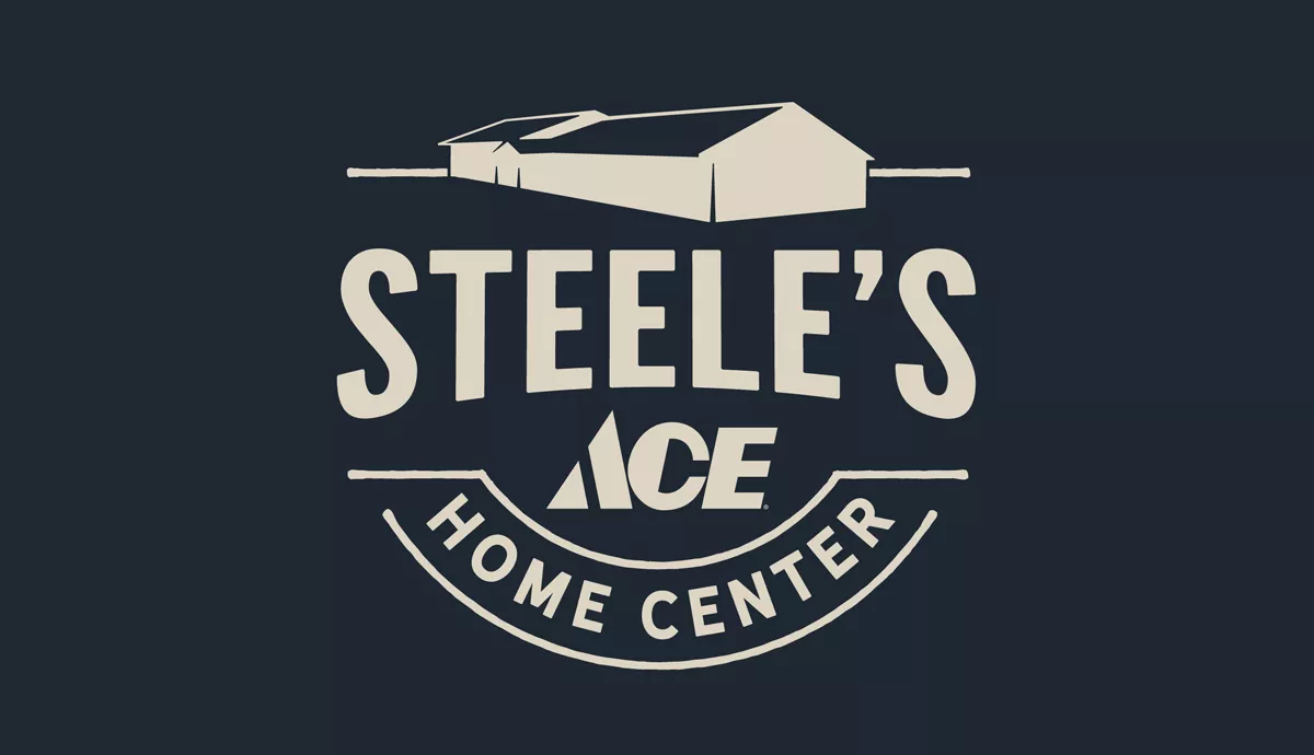 Steele S Ace Home Center Logo Matt Hatfield Art Steele Logos Logo Design