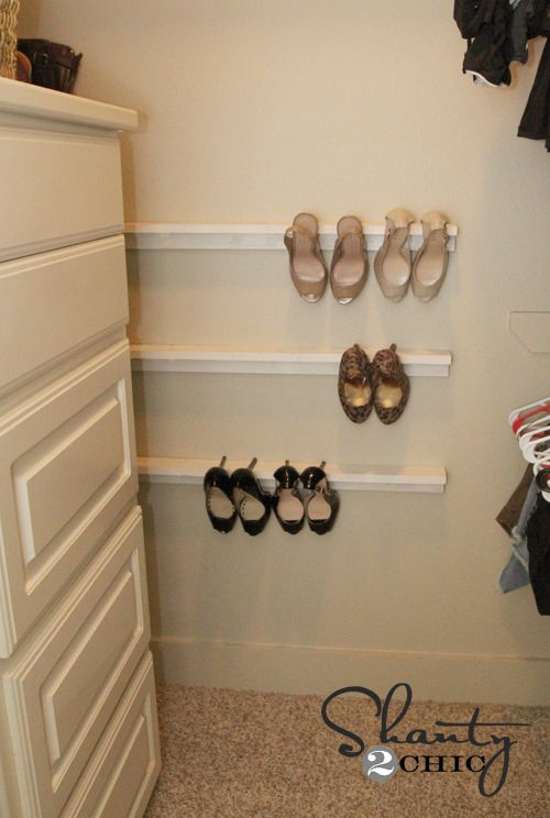 Cheap DIY Organizer For Your High Heels. Iu0027m Going To Add This To My Honey  Do List!