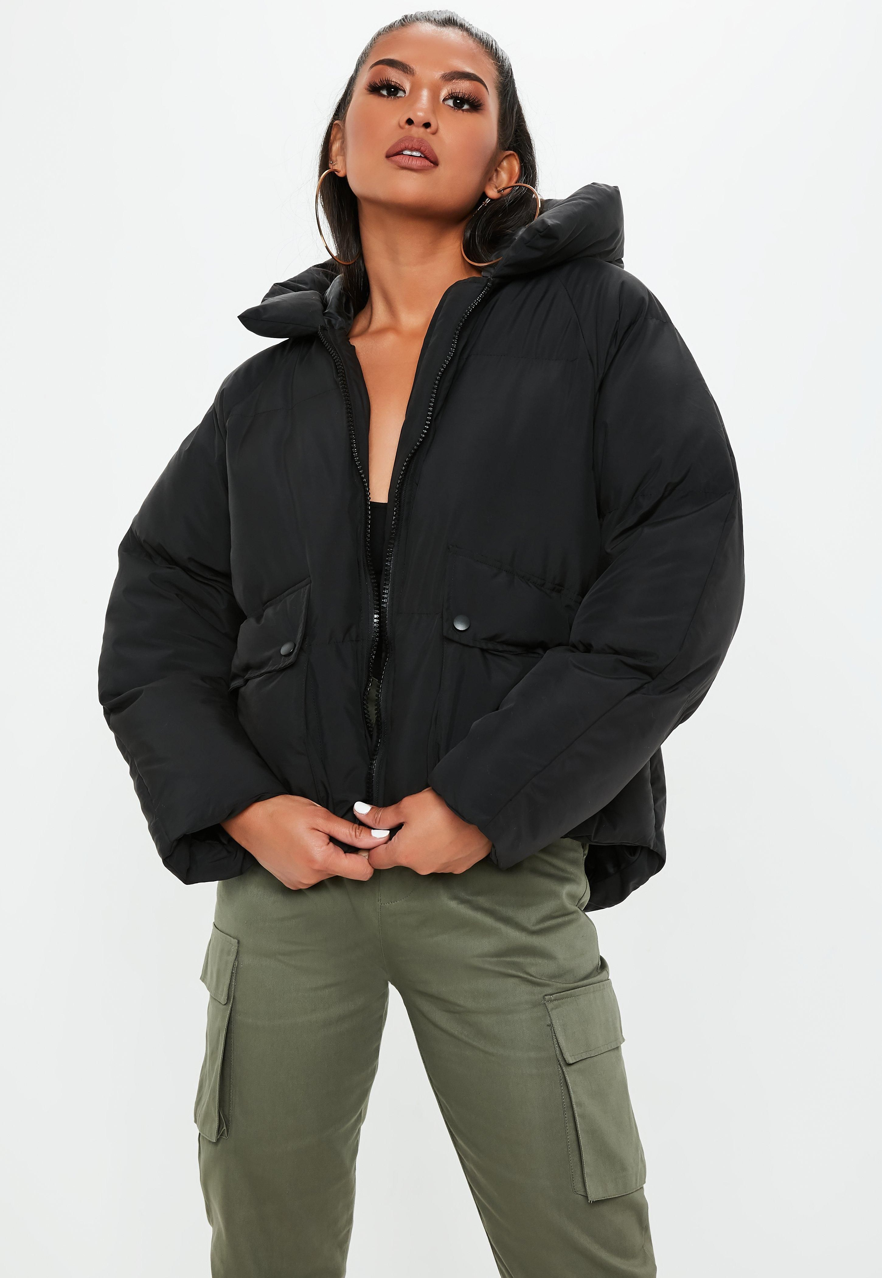 Tall Hooded Puffer Coat