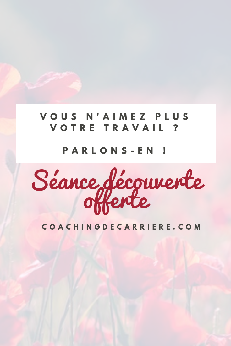 Pin On Coaching De Carriere Le Blog
