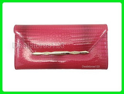 c475693c2c17 Dealstores123 - Genuine Leather Women's Wallet - Glossy Crocodile ...