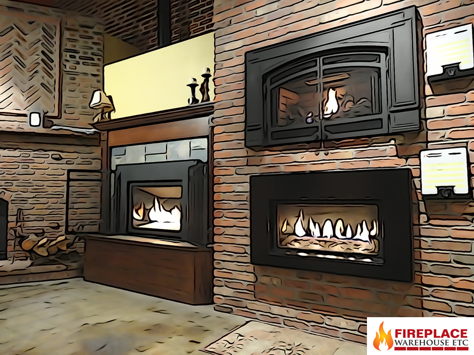 A Few Updates On The Gas Insert Wall As Well Fireplace Stores