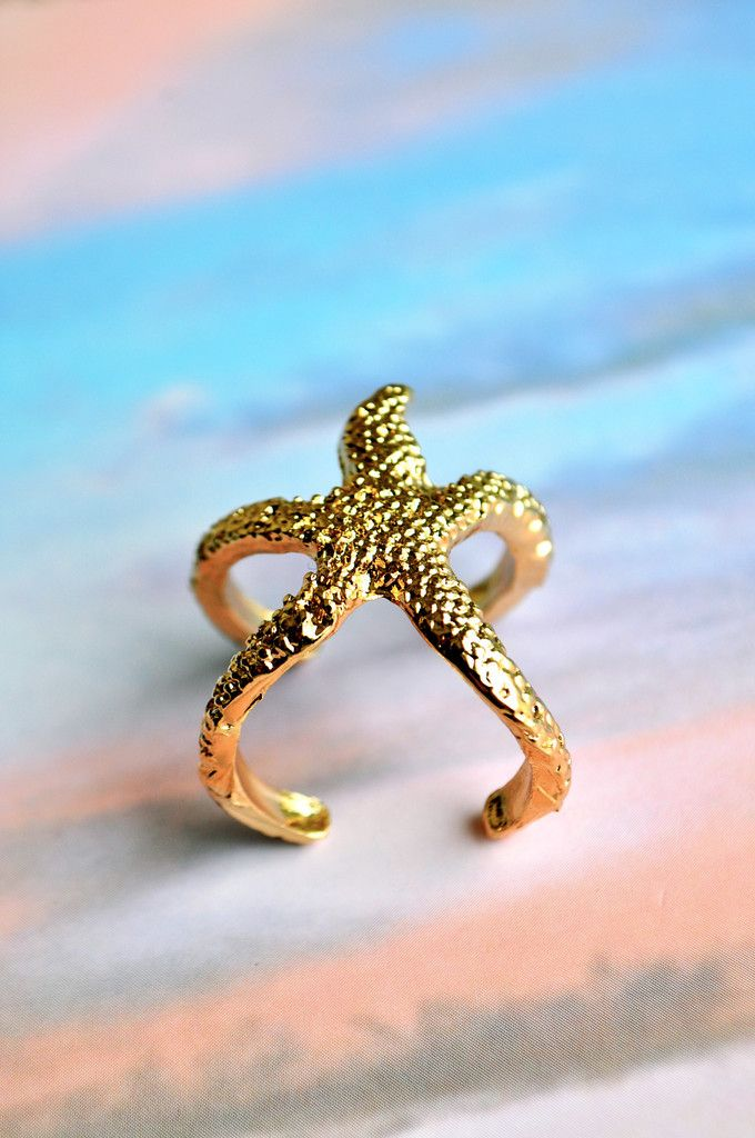 Starfish in Paradise Ring