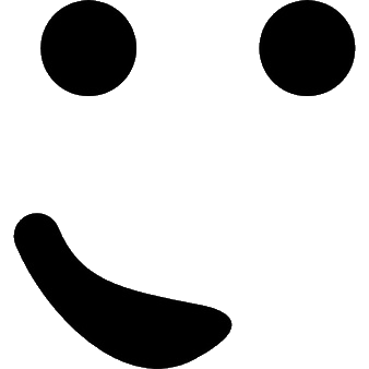 Av smiley noir et blanc content motic ne clipart - Smiley noir et blanc ...