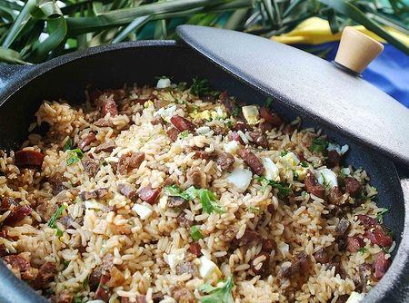 Arroz de Carreteiro (o Original e Leg�timo) - Veja mais em: http://www.cybercook.com.br/receita-de-arroz-de-carreteiro-o-original-e-legitimo.html?codigo=33933