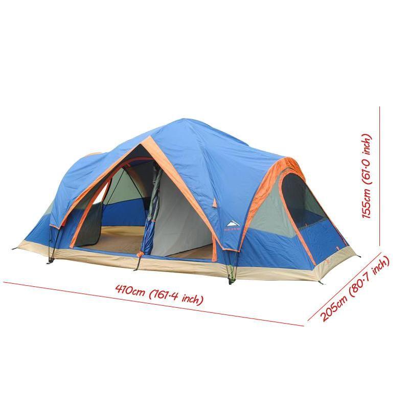 Alltel 4 Season Outdoor 5 6 Persons Automatic Tent 2 Room Tent Outdoor Canvas Tent