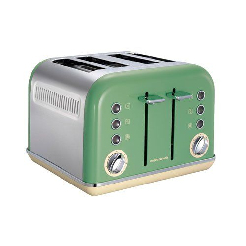 Accents 4 Slice Toaster Sage Green
